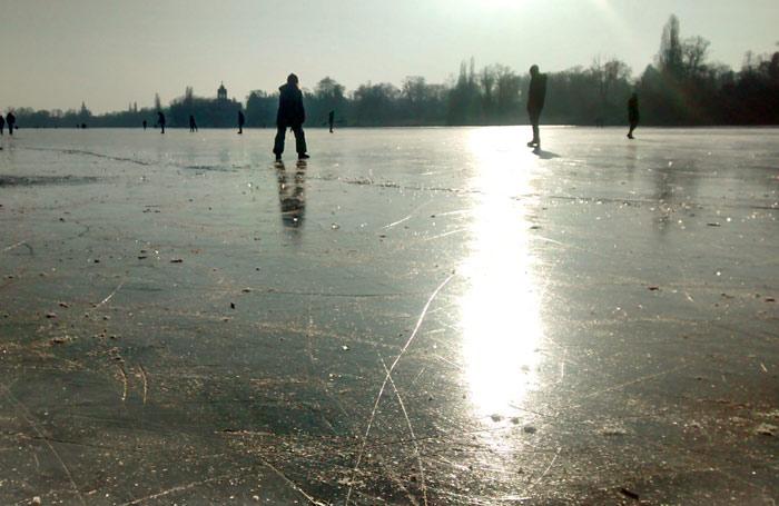 Berlino in inverno