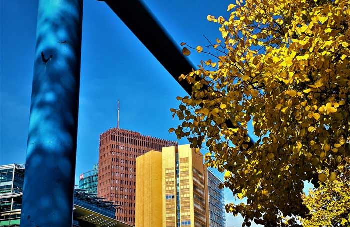 Le climat d'automne à Berlin