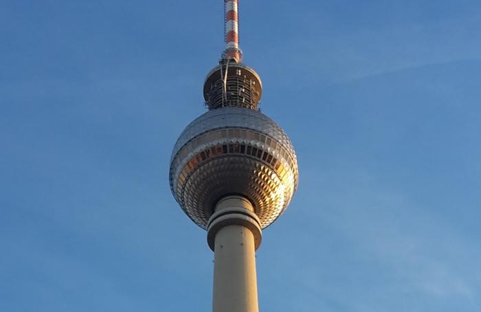 La Torre della TV di Alexanderplatz a Berlino