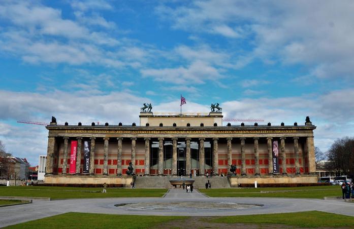 Altes Museum en la Isla de los Museos de Berlín