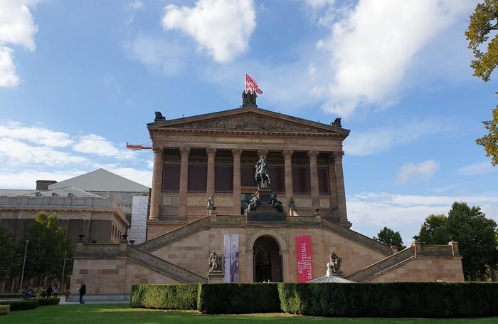 Alte Nationalgallerie - Isola dei Musei Berlino