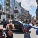 O Checkpoint Charlie em Berlim