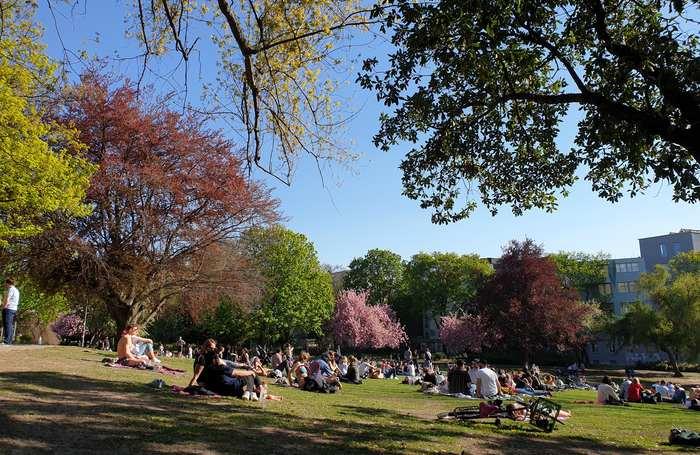 Berlino a Pasqua e in primavera