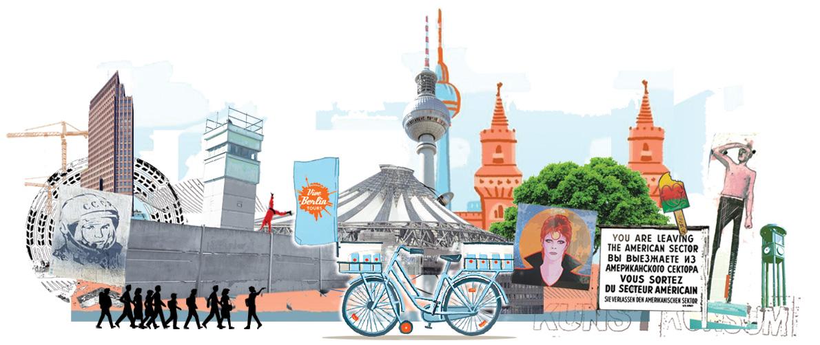 Roteiros em Berlim em português