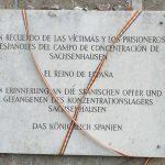 Los presos españoles del Campo de Sachsenhausen